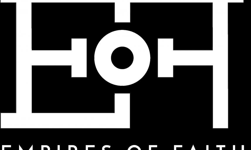 eof logo white on black